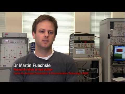Crean en Australia el nanotransistor más pequeño del mundo