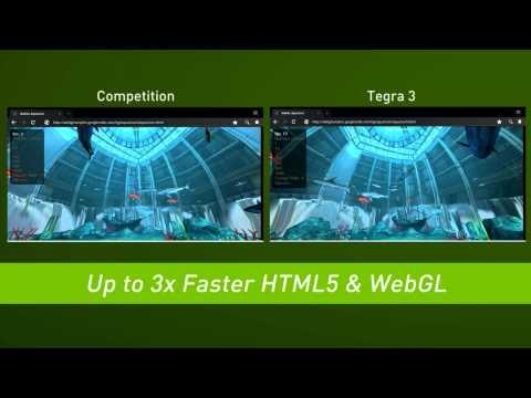 NVIDIA registra sus procesadores de 5 núcleos, Tegra 3