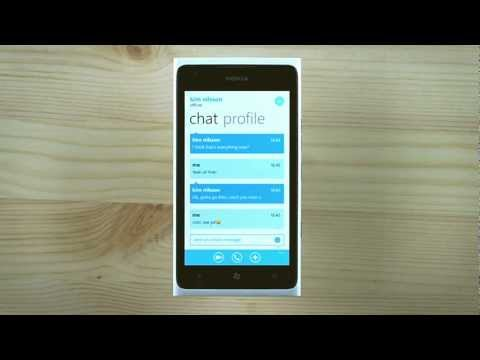 Skype 1.0 llega a Windows Phone