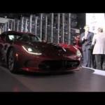 Dodge presenta el nuevo Viper SRT 2013.