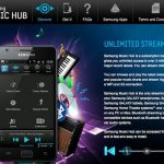 Samsung Music Hub Ofrecerá 100GB de Almacenamiento y Streaming Ilimitado