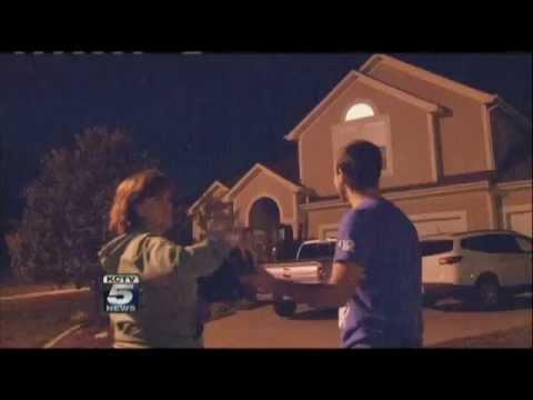 Filman OVNIs Sobre Blue Springs, EEUU