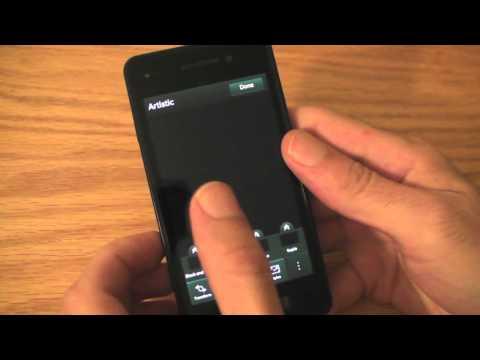 Blackberry 10 contará con un editor de fotos al estilo de Instagram