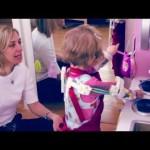 Exoesqueleto creado con una impresora 3D para niña con Artrogriposis