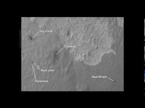 Nuevas imágenes enviadas por el Curiosity Rover