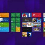 Los mosaicos desplazan a los íconos en Windows 8