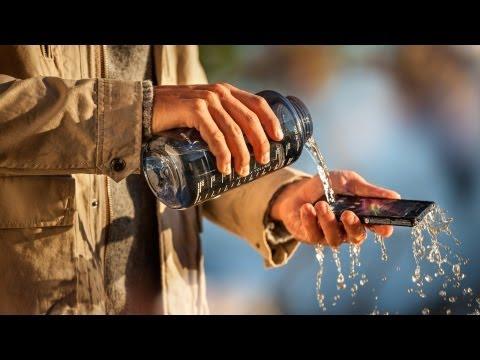 Sony Xperia Z con Cámara de 13 Megapíxeles y a Prueba de Agua