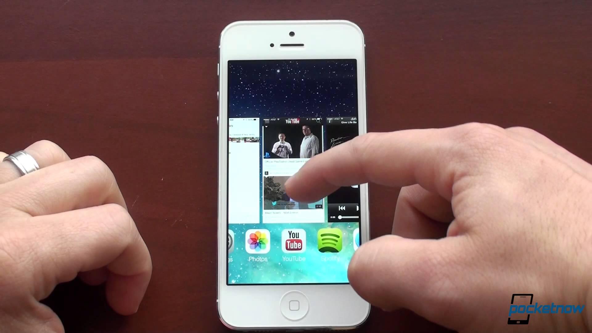 Así se ve el iOS7. La versión beta para el iPhone ya está dispobible.